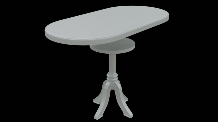 Dolls Table 3D Print 259106