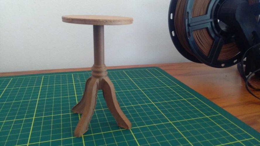 Dolls Table 3D Print 259108