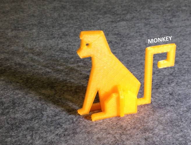 Simple Animals 7 3D Print 25916