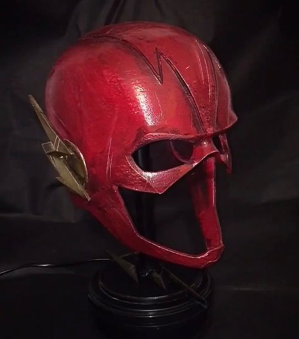 Medium Flash Helmet - Justice League 3D print model 3D Printing 259276