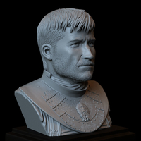 Small Jaime Lannister, Game Of Thrones Portrait, Bust, 200mm 3D Printing 259387