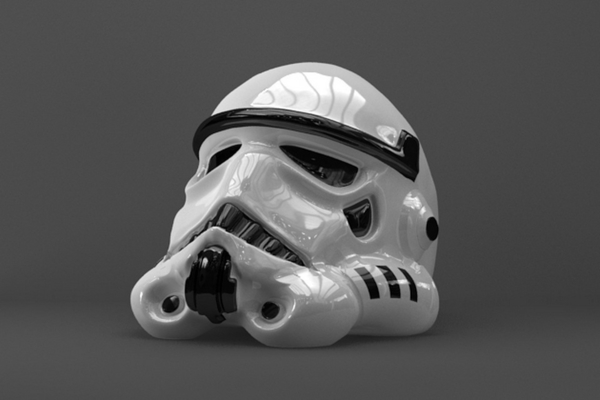 Medium 3d Ring Stormtrooper 3D Printing 259446
