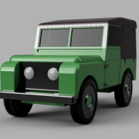 Small Classic Car 3 3D Printing 259525