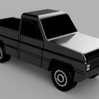 Small Classic Car 5 3D Printing 259532