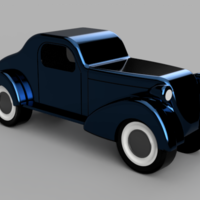Small Classic Car 8 3D Printing 259540