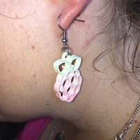 Small Raspberry Pi earrings 3D Printing 259598