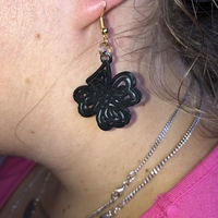 Small Celtic knot earring 3D Printing 259605