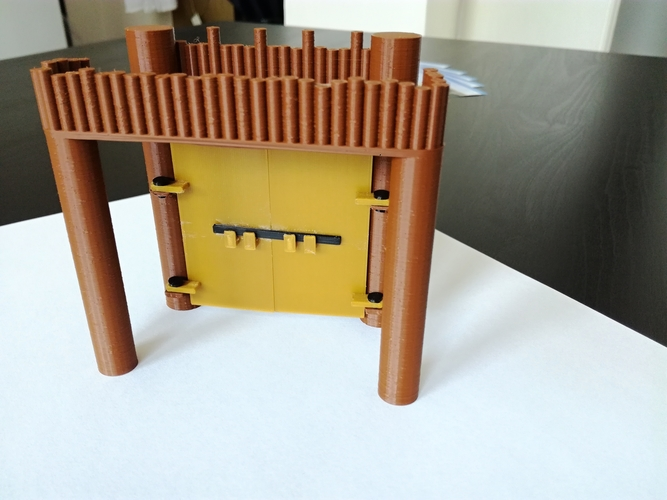 The Defensive Wall 3D Print 259720