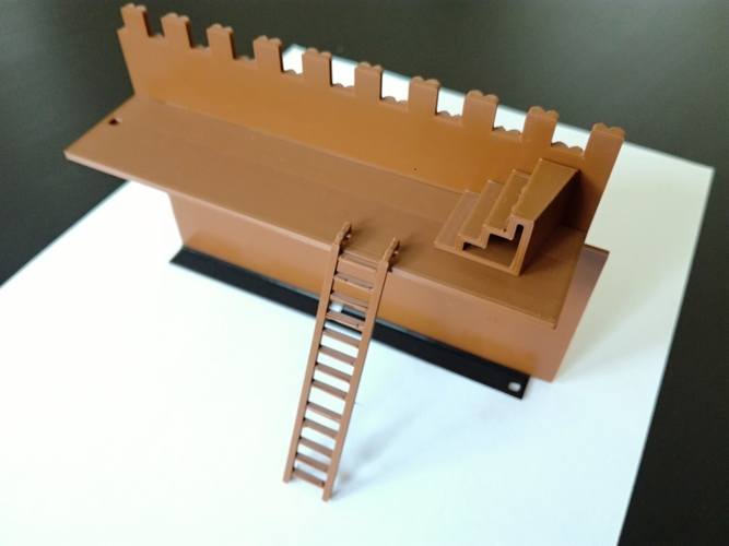 The Defensive Wall 3D Print 259740