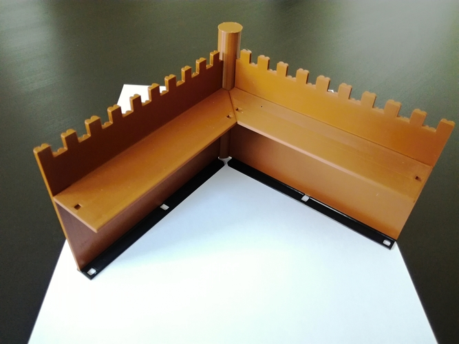 The Defensive Wall 3D Print 259742