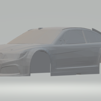 Small chevrolet ss nascar 3D Printing 260127