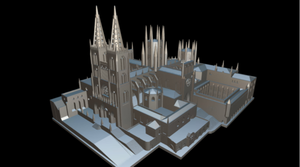 Medium Catedral de Burgos 3D Printing 260154