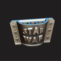 Small PENCIL HOLDER - STAR WARS  3D Printing 260176