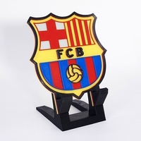 Small Barcelona Soccer Stand Cellphone 3D Printing 260343