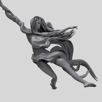 Small Pole Dance Girl 3D Printing 260414