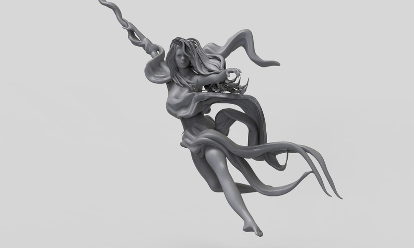Pole Dance Girl 3D Print 260415