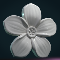 Small Flower I 3D Printing 260493