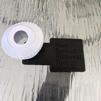 Small Pool Eyeball (Nozzle) Removal Tool 3D Printing 260524