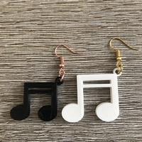 Small Sixteenth note earrings (two files!) 3D Printing 260528