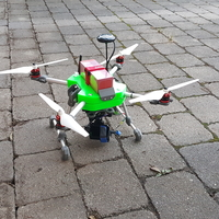 Small Drone - Quadrocopter 3D Printing 260632