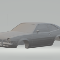 Small ford pinto and ford pinto rs  slotcar  diecast  3D Printing 260672