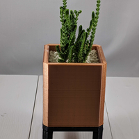 Small Square Planter 3D Printing 260690
