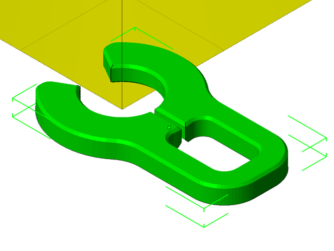 Lock clip for PTC fitting from E3D 3D Print 26074