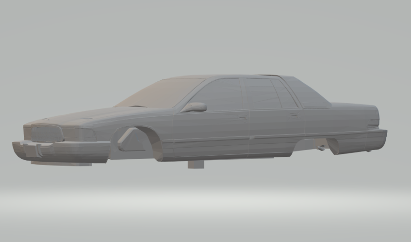 3d Printed Buick Roadmaster 96 By Gauderio