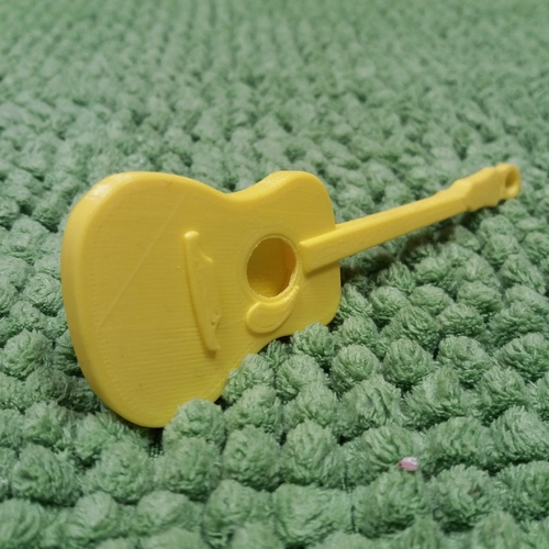 3D Printed Guitare Folk Fender by Gerbat55 | Pinshape