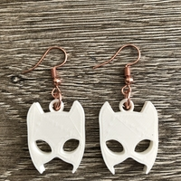Small Catwoman earrings 3D Printing 260813