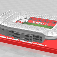 Small Sunderland AFC - Stadium of Light 3D Printing 260861