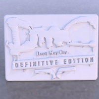 Small Devil May Cry sign 3D Printing 260897