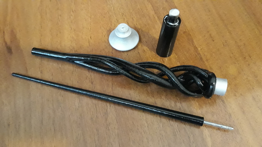 Original wand of Dumbledore from movie Fantastic Beasts 2 3D Print 261051