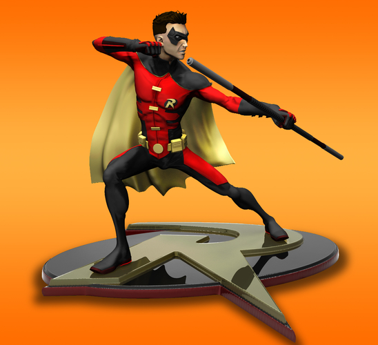 Robin Tim Drake model for 3d Print 3D Print 261279