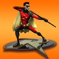 Small Robin Tim Drake model for 3d Print 3D Printing 261279