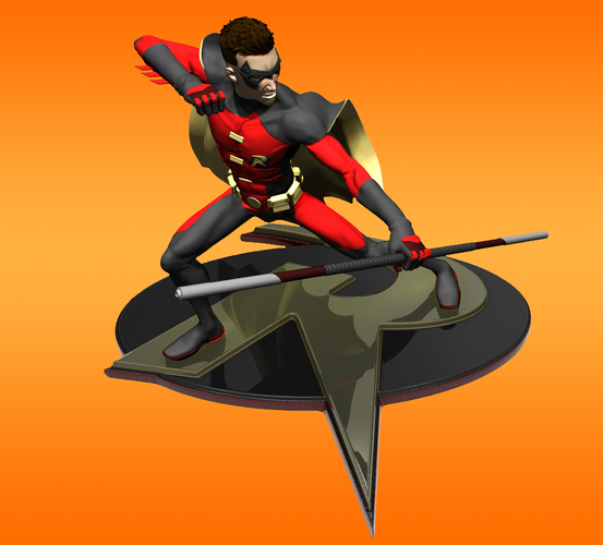 Robin Tim Drake model for 3d Print 3D Print 261280