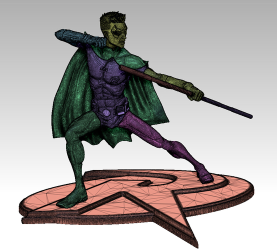 Robin Tim Drake model for 3d Print 3D Print 261286