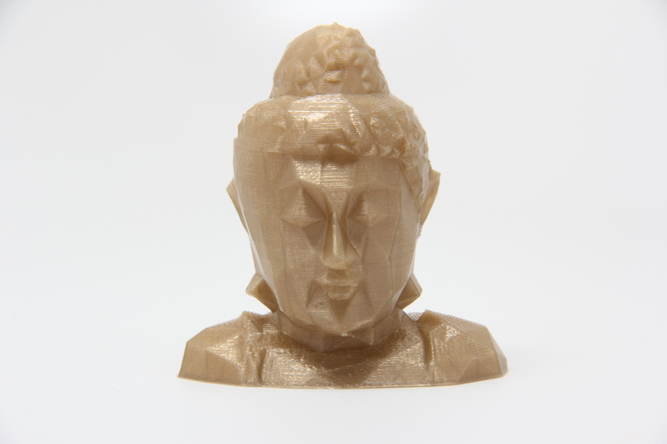 Low Poly Buddha Head 3D Print 26149