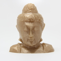 Small Low Poly Buddha Head 3D Printing 26149