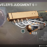 Small Traveler's Judgement 5 Destiny 2 3D Printing 261557