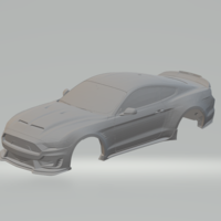Small ford mustang supersnake 19 slot car 3D Printing 261612