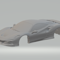 Small ferrari f8 tributo  slot car  3D Printing 261676