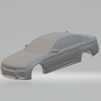 Small bmw m5 2019 3D Printing 261685