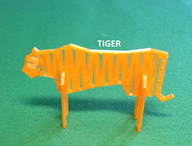 Simple Animals 9 - Rivals 3D Print 26173