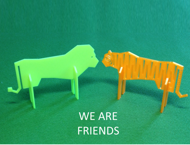 Simple Animals 9 - Rivals 3D Print 26174