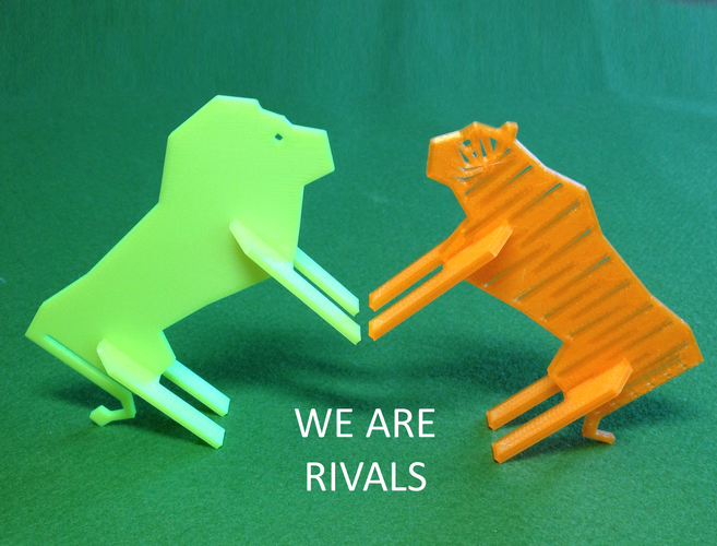 Simple Animals 9 - Rivals 3D Print 26175
