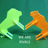 Small Simple Animals 9 - Rivals 3D Printing 26175