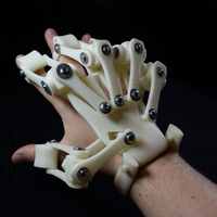 Small 3D Printed Exoskeleton Hands 3D Printing 26180
