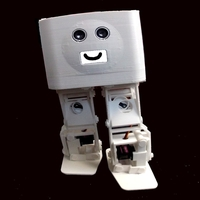 Small BORIS the Biped for Beginners and Beyond 3D Printing 261848