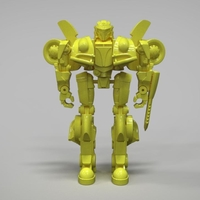 Small Bumblebee action figure 3D print model 3D Printing 262069